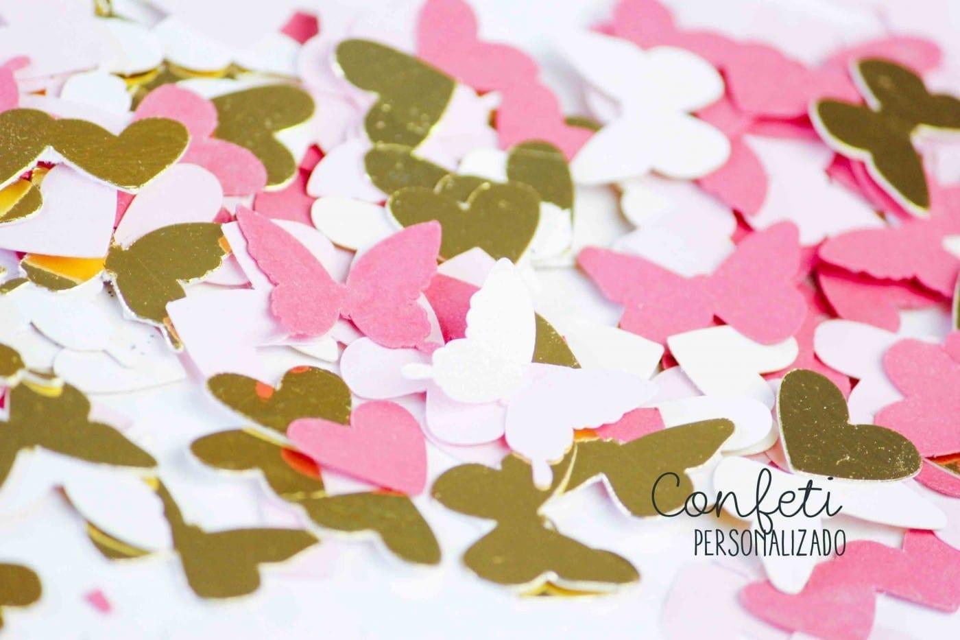 confeti personalizado bodas